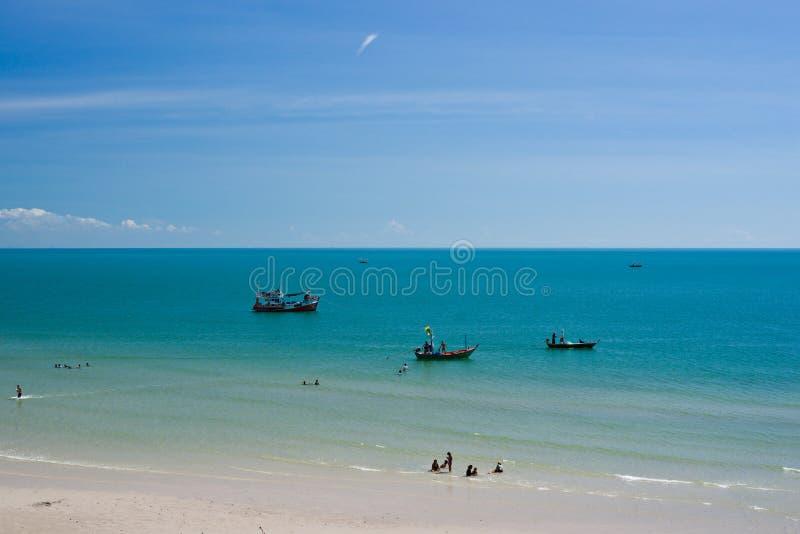 Hua Hin, Tailândia. imagens de stock