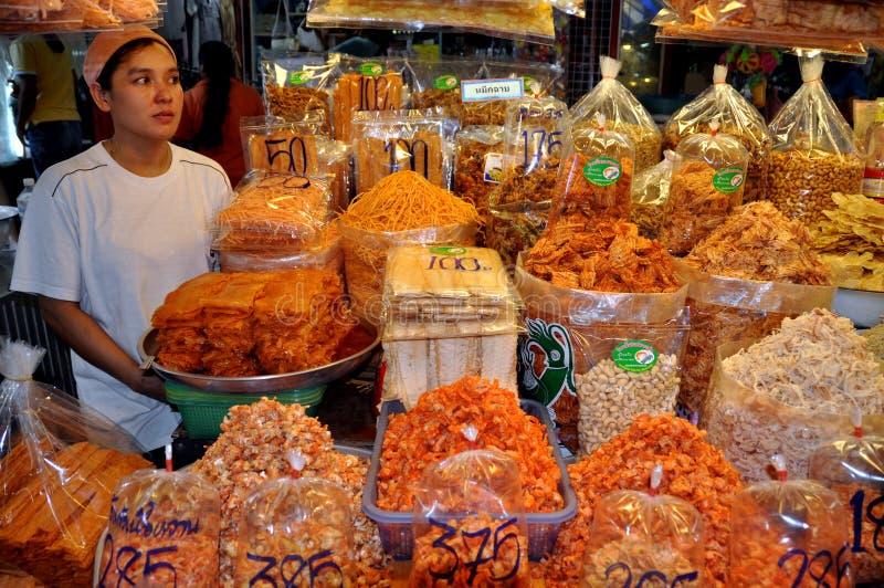 Hua Hin, Tailândia: Mercado de Chai do bate-papo imagens de stock royalty free
