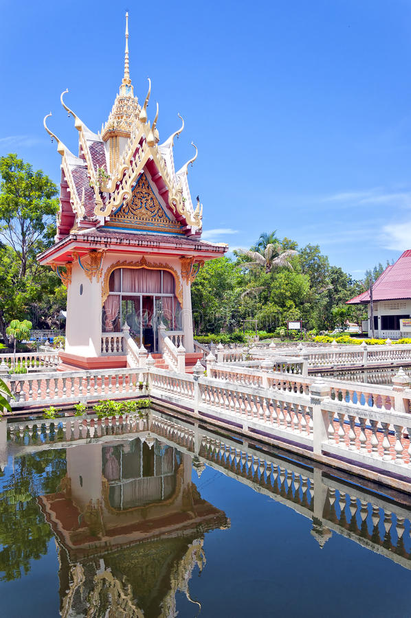 Hua Hin Temple 46. A buddhist temple situated in the city of Hua Hin in Thailand royalty free stock photo