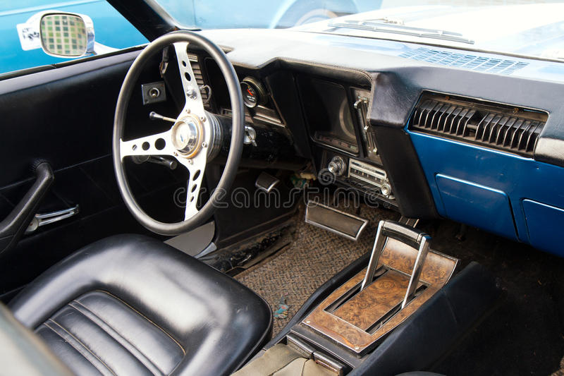 Hua Hin Vintage Cars Parade Festival 2011 royalty free stock images