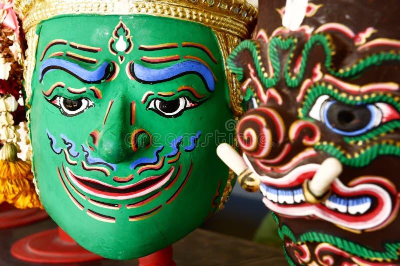 Download Hua Khon Używać W Khon (Tajlandzka Tradycyjna Maska) Zdjęcie Stock - Obraz złożonej z antyczny, twarz: 57650190