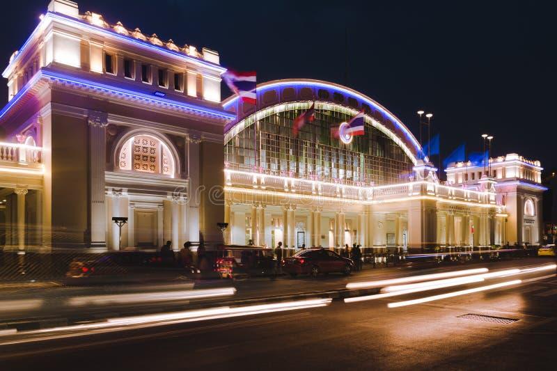 Hua Lamphong, Bangkok, Tailandia fotografie stock