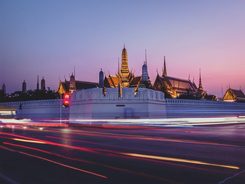 Hua Lamphong Bangkok, Thailand arkivfoto