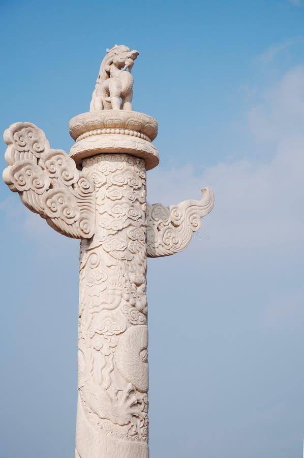 Huabiao, Tiananmen πόλη που απαγορεύουν Gugong Κινεζική αρχιτεκτονική στοκ φωτογραφίες