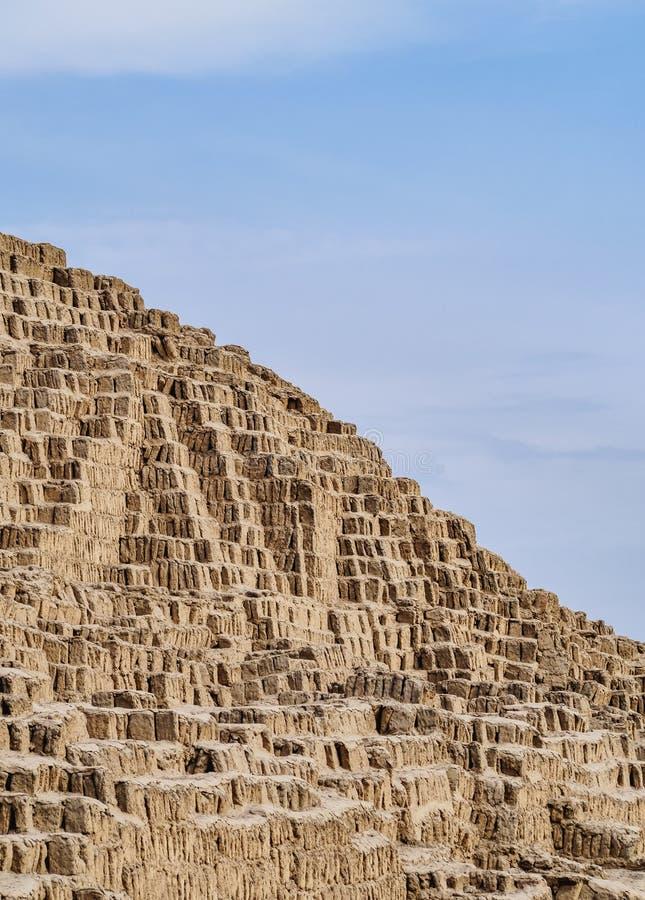 Huaca Pucllana em Lima, Peru imagens de stock royalty free