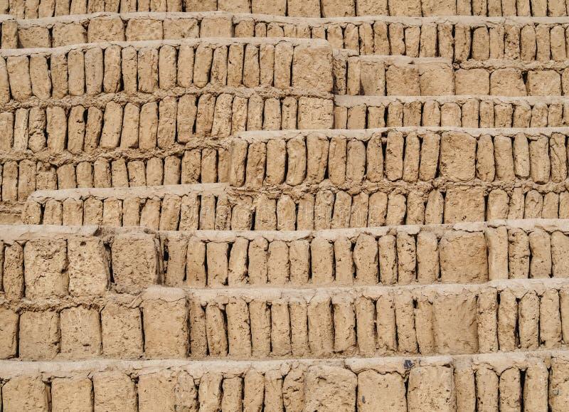 Huaca Pucllana en Lima, Perú imágenes de archivo libres de regalías