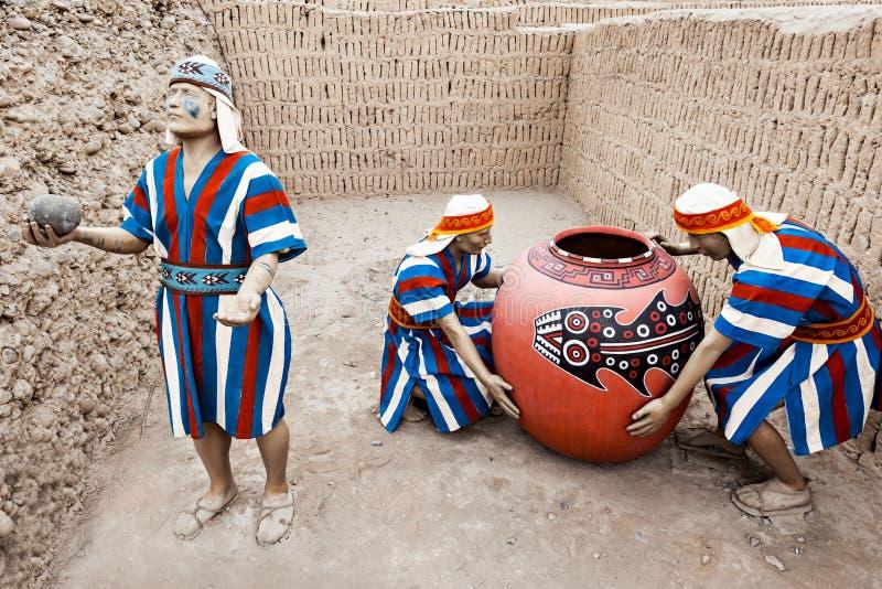 Huaca Pucllana, Lima obrazy royalty free