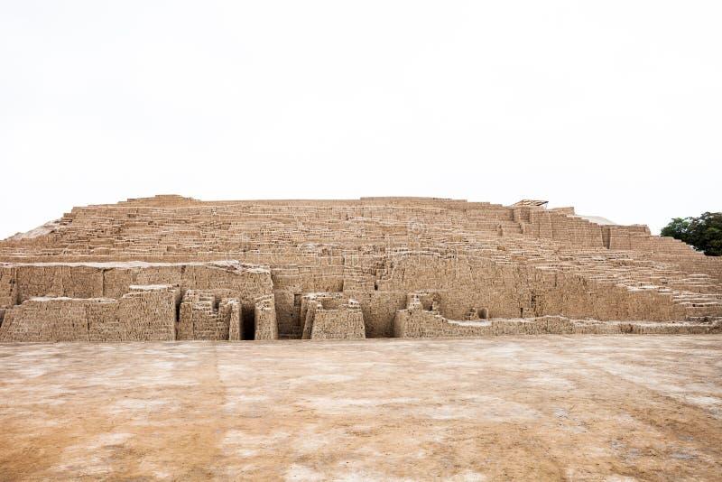 Huaca Pucllana, Lima foto de archivo libre de regalías