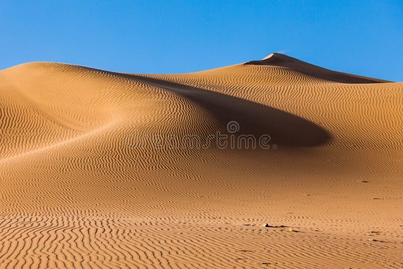 Huacachina沙漠沙丘 库存照片