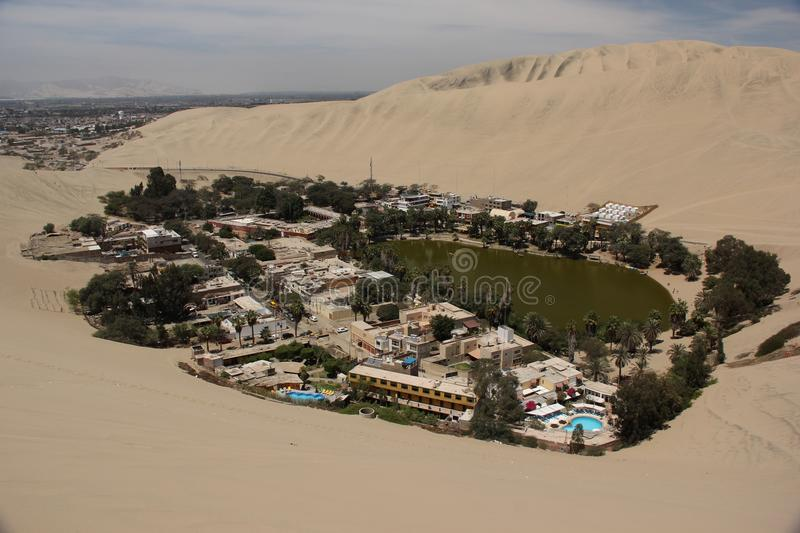 Huacachina obraz stock
