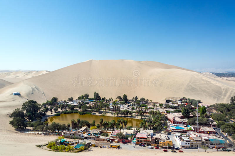 Huacachina Desert Oasis stock photo