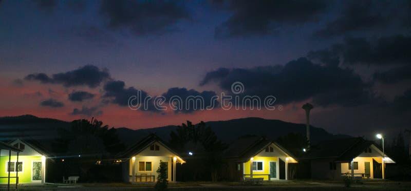 Huahin, Tajlandia, Marzec 3 2017 Domowy kurort - fotografia royalty free