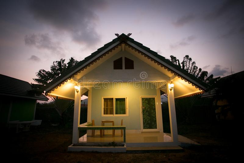 Huahin, Thaïlande - 3 mars 2017 station de vacances de Chambre photos libres de droits