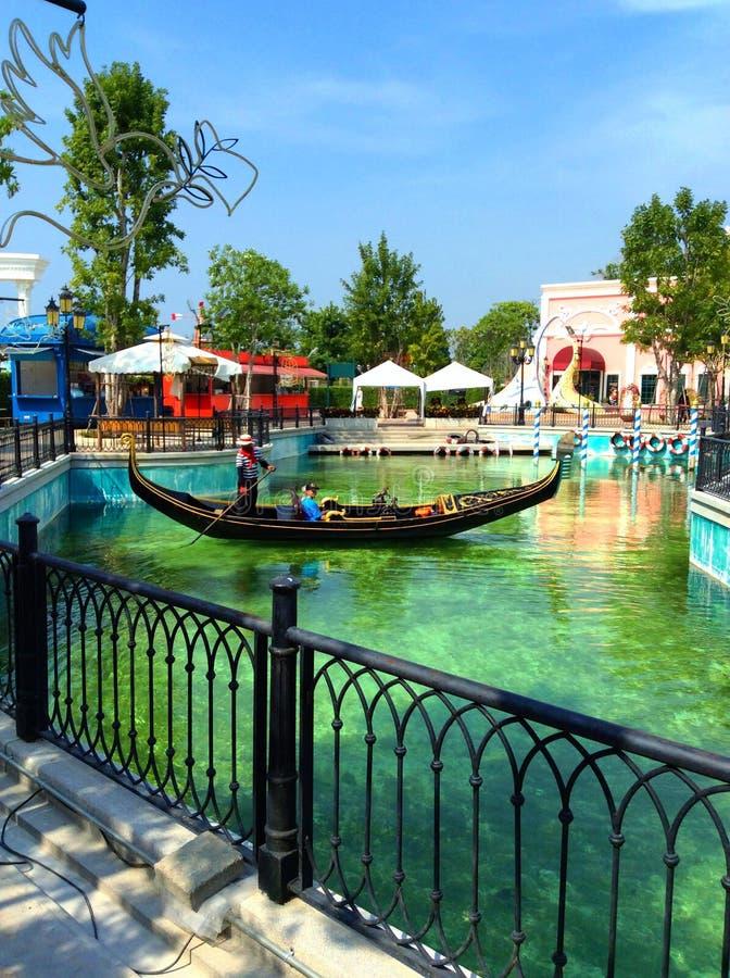 Huahin Venecia стоковые фотографии rf