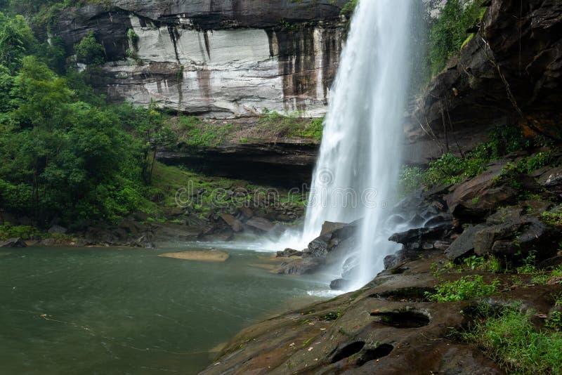 Huai Luang Waterfall parco nazionale del Na YOI al †di PhuChong «, Ubonratchathani Tailandia fotografie stock libere da diritti