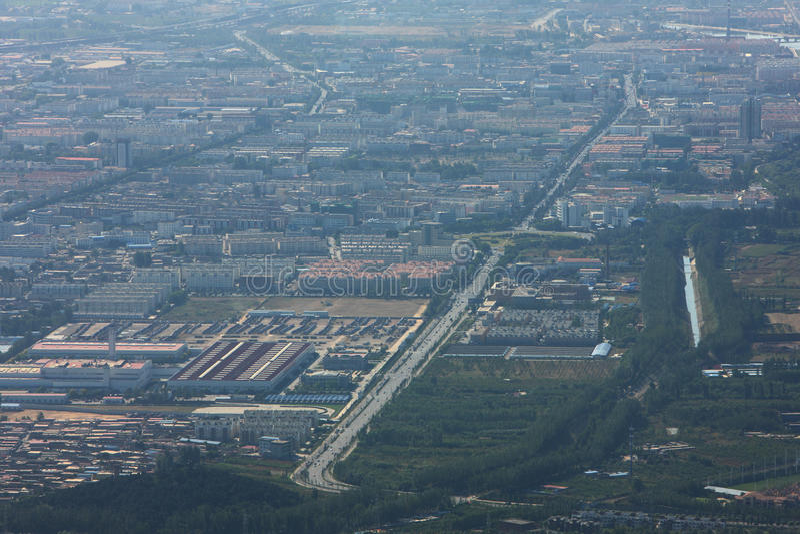 Huairou Grafschaft, Peking Vorstadt lizenzfreies stockfoto