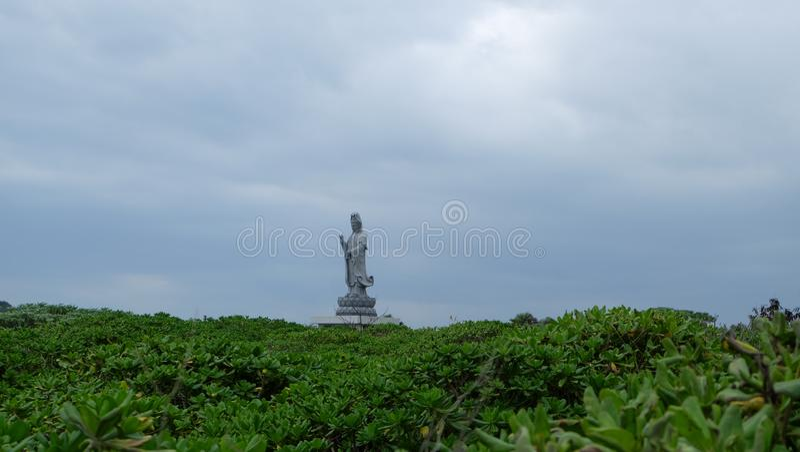 Hualien Qixingtan Beach 花蓮七星潭, Chihsingtan royalty free stock images