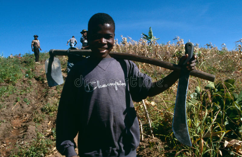 huambo της Ανγκόλα στοκ εικόνα