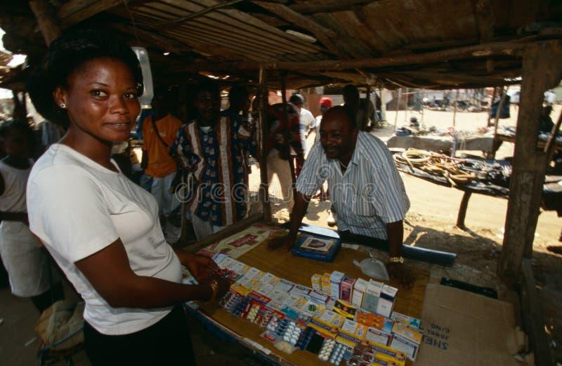 Huambo, Angola stock foto