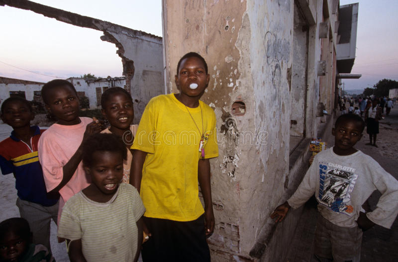 Huambo, Angola photographie stock libre de droits
