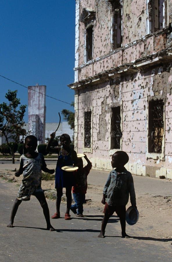 Huambo Angola royaltyfria bilder