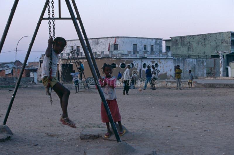 Huambo, Angola stock foto's