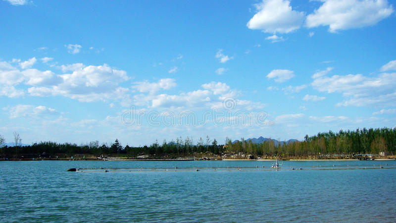 huan λίμνη hua στοκ εικόνα με δικαίωμα ελεύθερης χρήσης