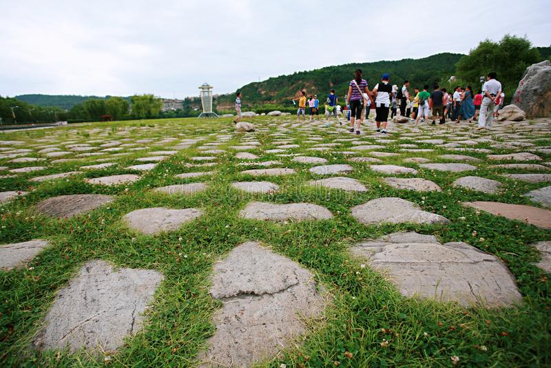 Huang Di Mausoleum foto de archivo