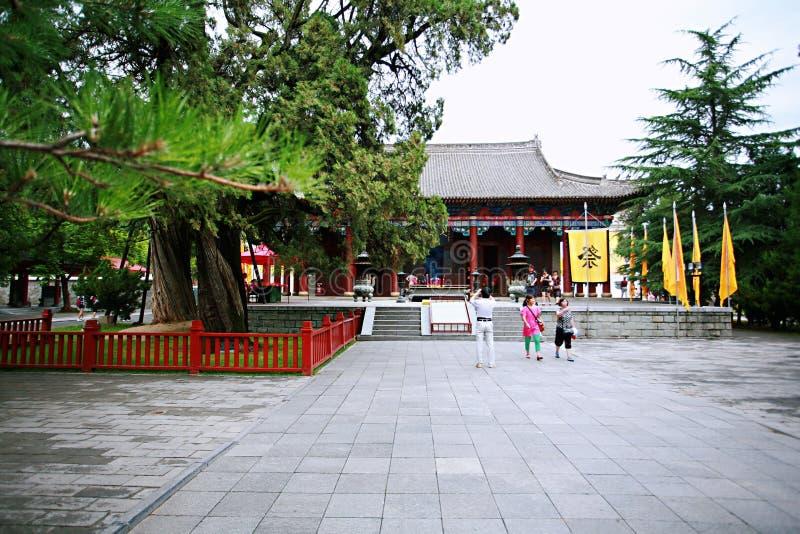 Huang Di Mausoleum lizenzfreie stockfotografie