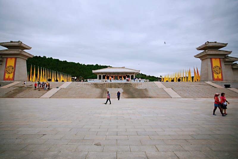 Huang Di Mausoleum stockbild