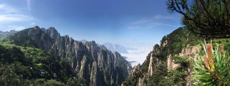 Huang góra obrazy royalty free