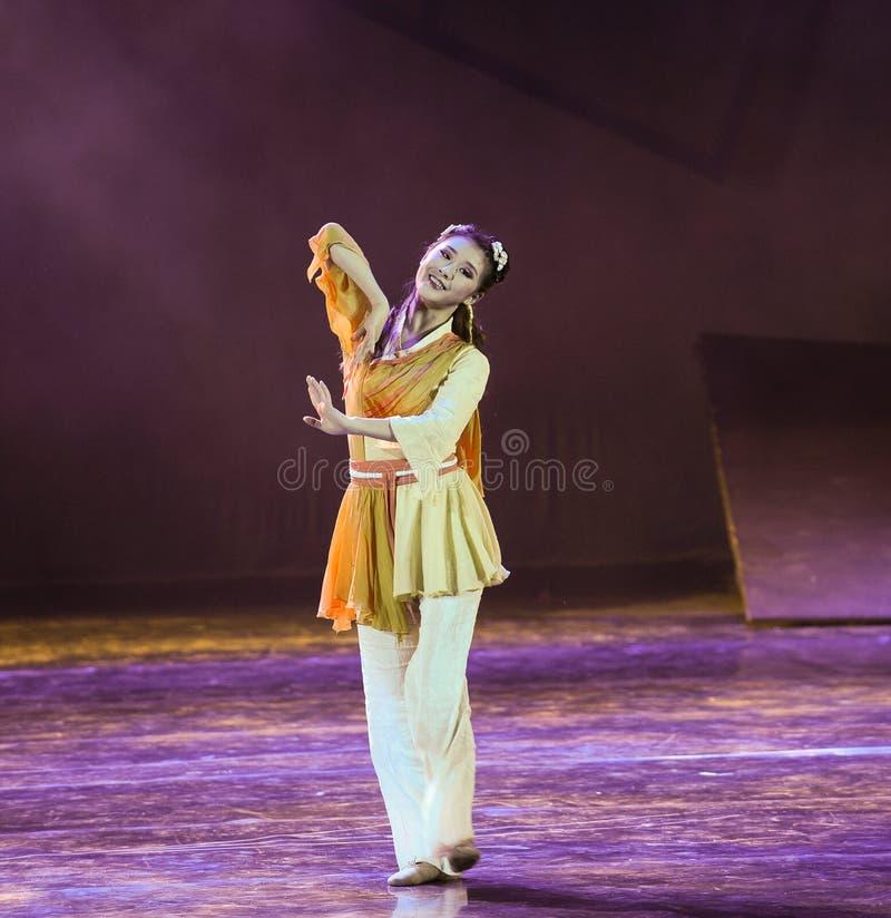 Huang Rong martial het kunst-dansdrama de legende van de Condorhelden royalty-vrije stock fotografie