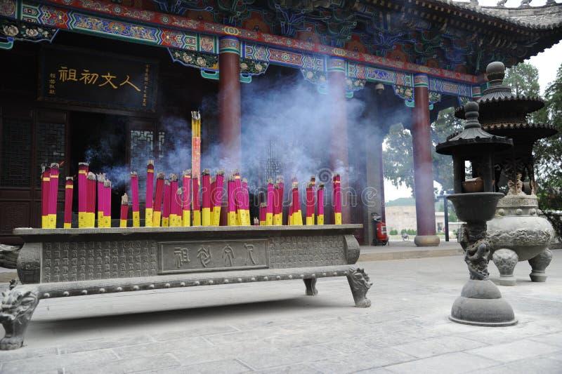 Huangdi mauzoleumu chińczyk zdjęcia stock