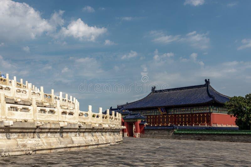 Huanggan tempel, tempel av himmel, Kina royaltyfri fotografi