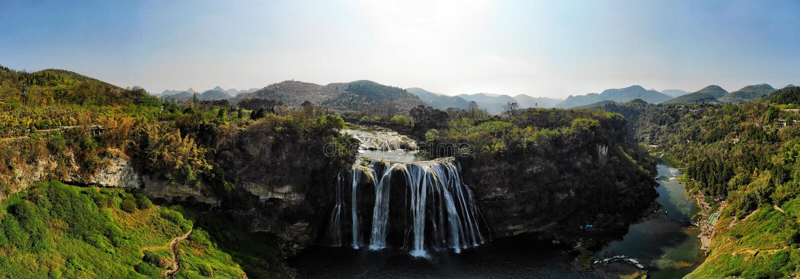 Huangguoshu vattenfall arkivfoto
