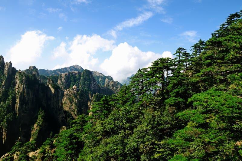 Huangshan, απίστευτη Κίνα στοκ εικόνα με δικαίωμα ελεύθερης χρήσης