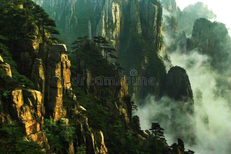 huangshan βουνό της Κίνας στοκ εικόνα με δικαίωμα ελεύθερης χρήσης