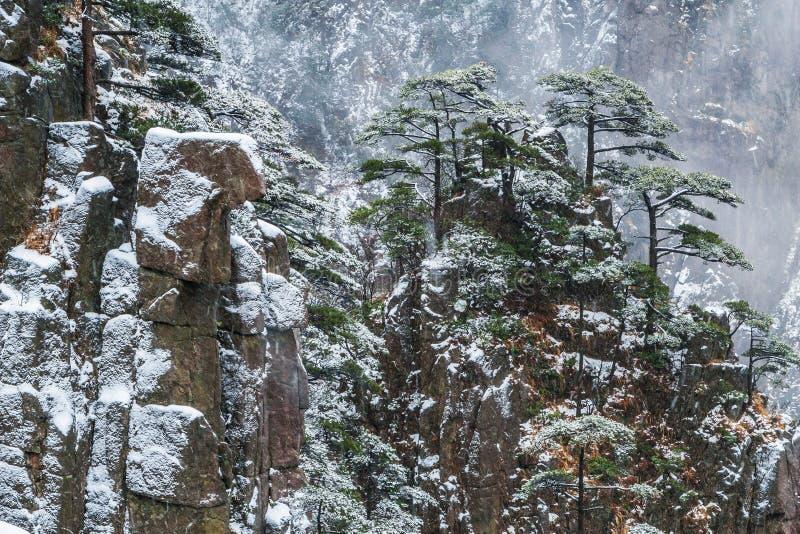 huangshan βουνό της Κίνας στοκ φωτογραφίες με δικαίωμα ελεύθερης χρήσης