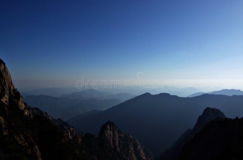 huangshan βουνό στοκ εικόνα