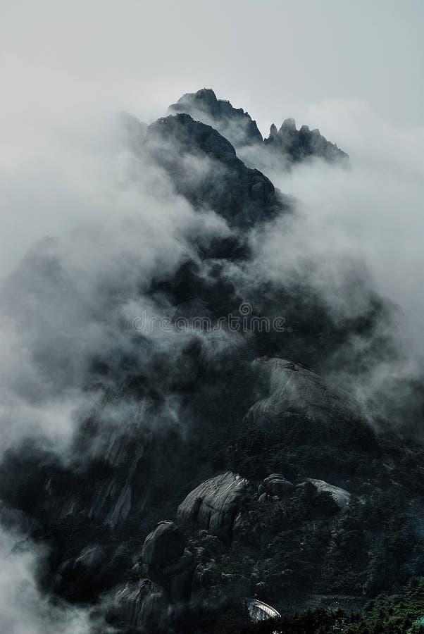 Huangshan lizenzfreie stockfotos