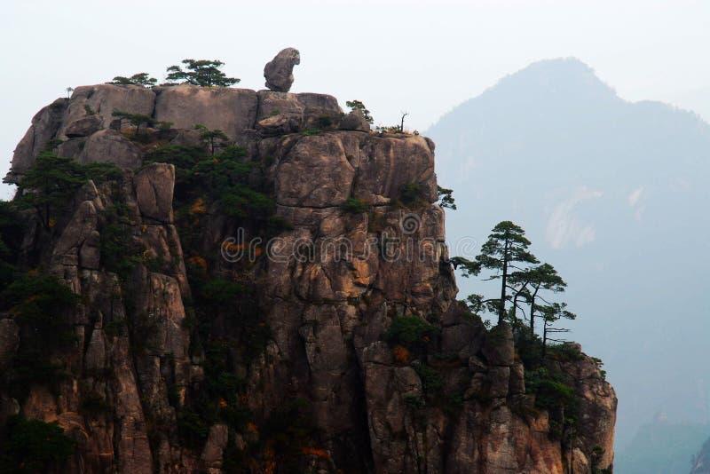 Huangshan stockbild