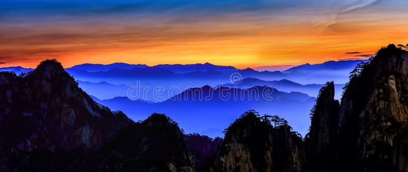 Huangshan lizenzfreie stockbilder