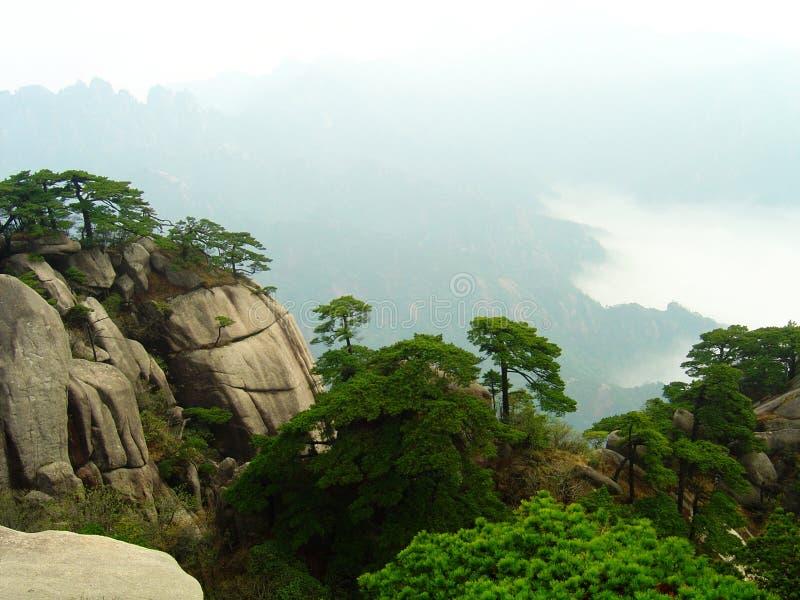 huangshan στοκ εικόνες
