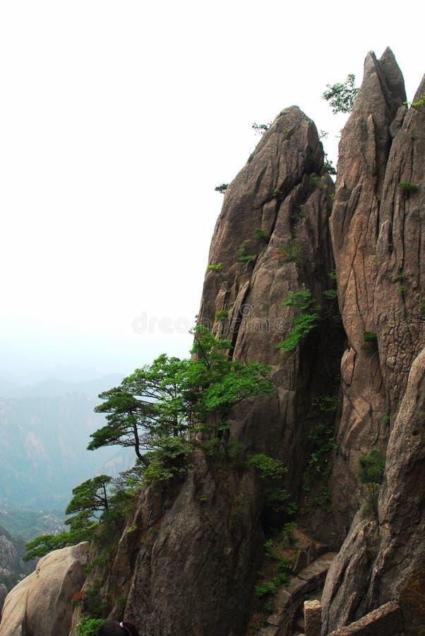 Huangshan-Berg stockfotos