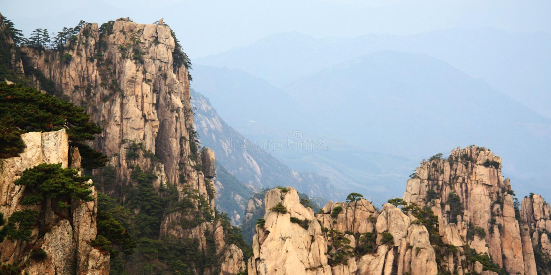 Huangshan-Chinese lizenzfreies stockbild
