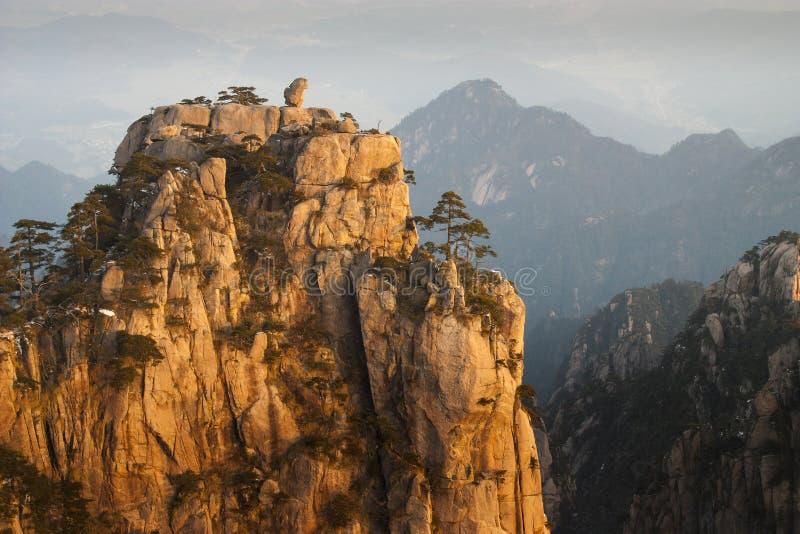 Huangshan, Cina fotografia stock libera da diritti