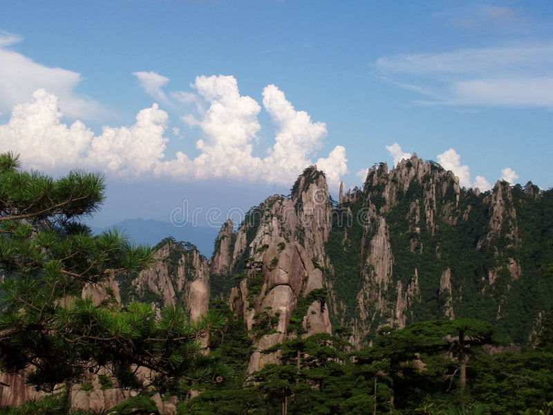 Huangshan de China (1) fotos de archivo libres de regalías