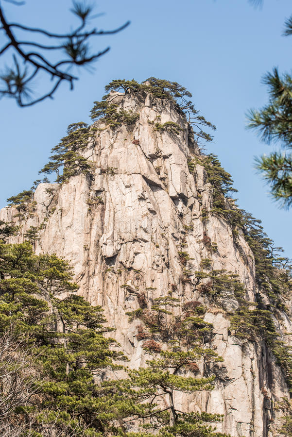 Huangshan Mountain(yellow mountain) royalty free stock images