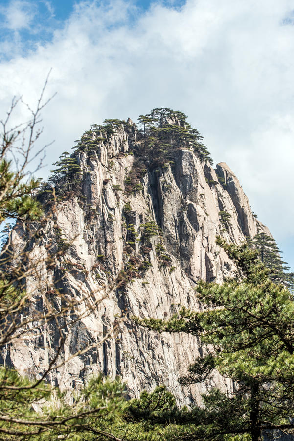 Huangshan Mountain(yellow mountain) royalty free stock photography