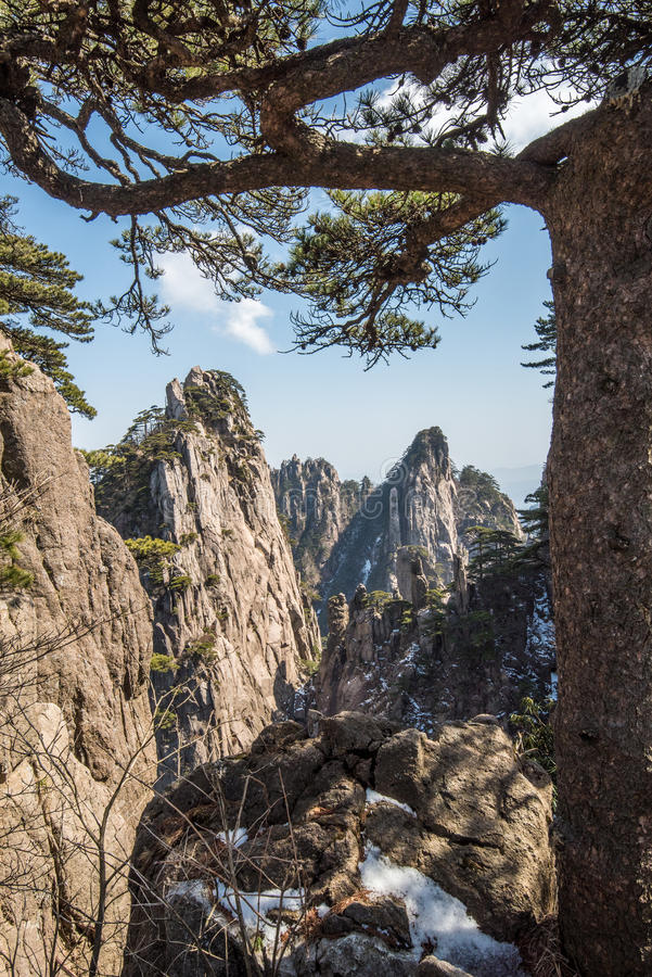 Huangshan Mountain(yellow mountain) stock photos